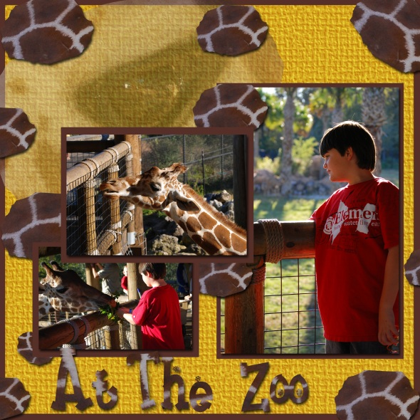 At The Zoo Page 2