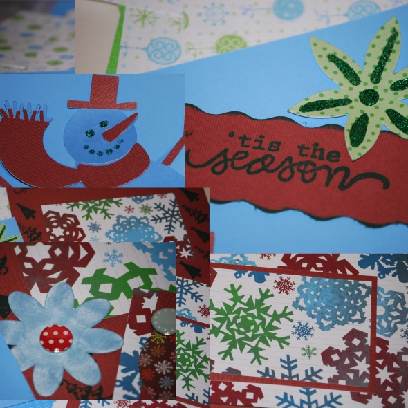 Christmas Delights Sample Materials