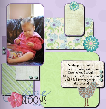 This Single Layout was Created with My Heritage Makers Studio