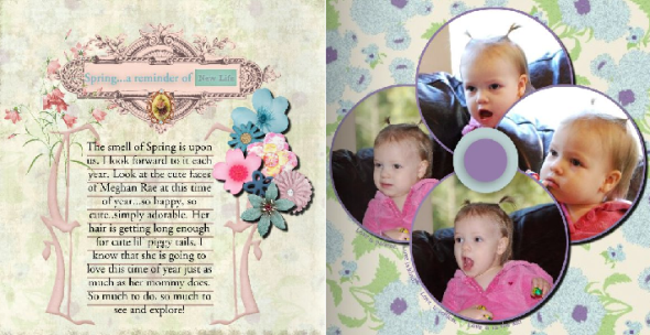 This Double Layout was Created with My Heritage Makers Studio/Click Here to Visit and Sign up For a FREE Account