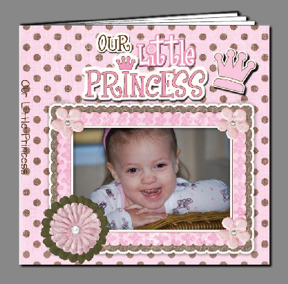 Click This Princess Album-Made In My Heritage Makers Studio