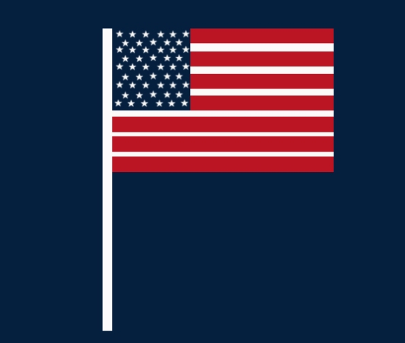 USA Flag Freebie