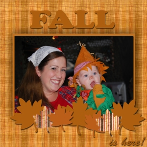 Fall Layout sample2